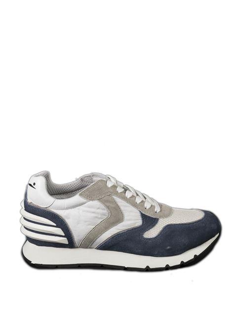 Sneaker liam power bianco/blu VOILE BLANCHE   Sneakers   2015677LIAM POWER-1C55