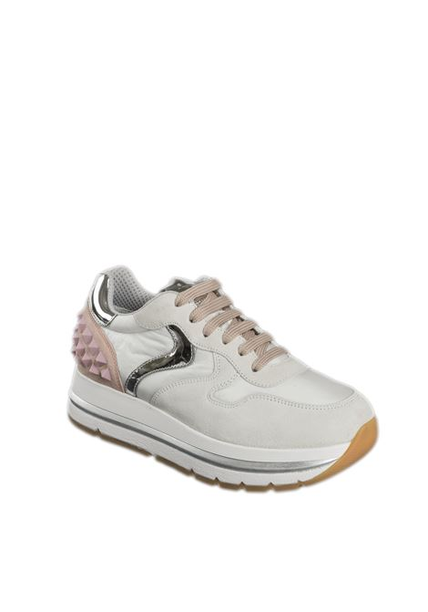 Sneaker maran studs bianco/rosa VOILE BLANCHE | Sneakers | 2015809MARAN STUDS-1N04