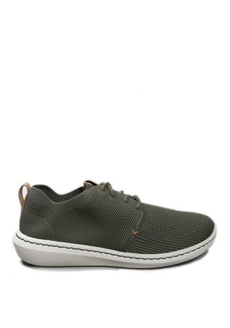 Sneaker step urban verde CLARKS ENGLAND   Sneakers   138174-STEP URBANMESH-KHAKI