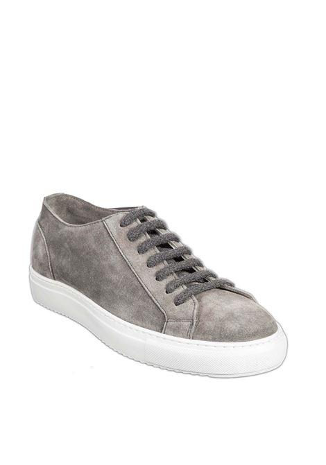 Sneaker wash grigio DOUCAL'S | Sneakers | 2335WASH-IRON