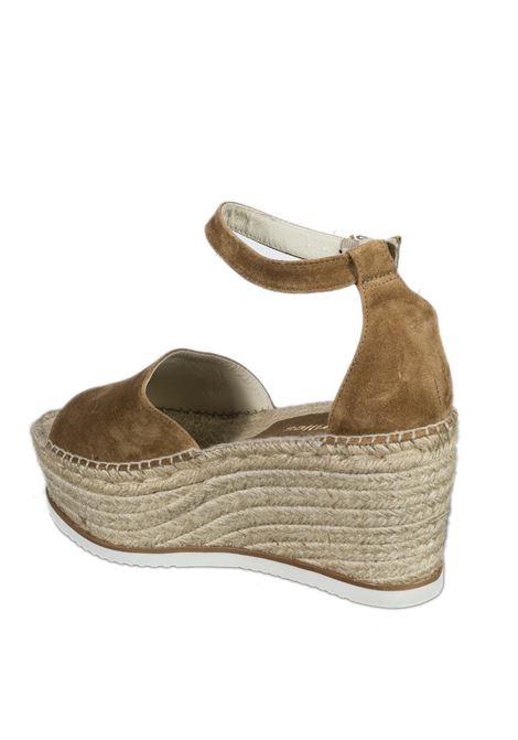 Sandalo monia cuoio ESPADRILLES | Espadrilles | MONIACAM-CUERO