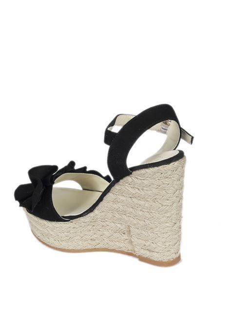 Sandalo nido nero ESPADRILLES | Espadrilles | NIDOANTE-NEGRO