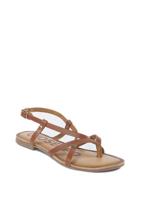 Sandalo vina cuoio GIOSEPPO | Sandali flats | 59847VINA-CUOIO