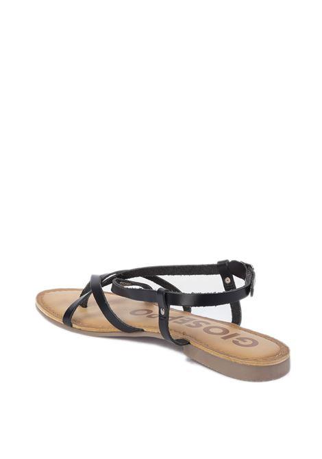 Sandalo vina nero GIOSEPPO | Sandali flats | 59847VINA-NERO