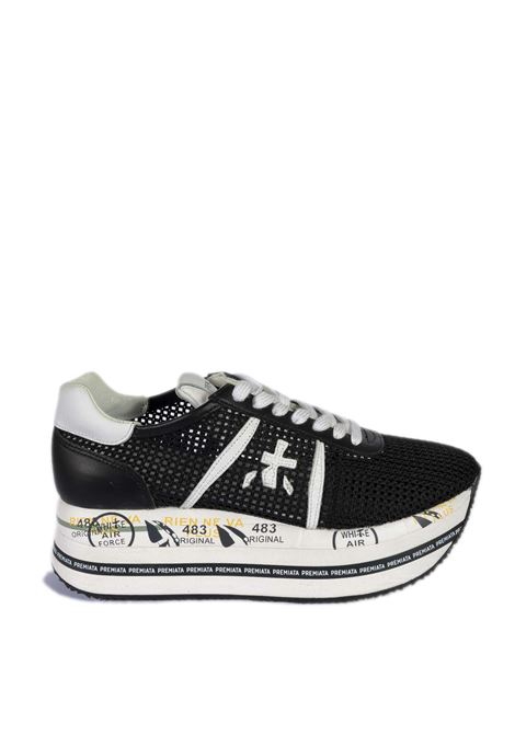 Sneaker beth rete nero PREMIATA | Sneakers | BETHRETE-5223