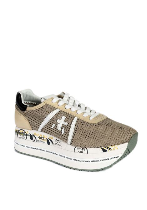 Sneaker beth rete beige PREMIATA | Sneakers | BETHRETE-5602