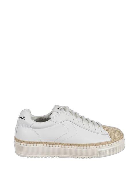 Sneaker caprera beige/bianco VOILE BLANCHE   Sneakers   2015716CAPRERA-1E05