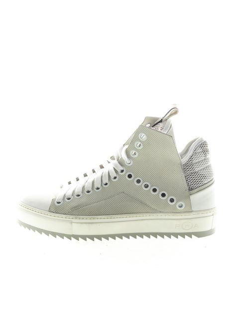 PHA SNEAKER MID BORCHIE BIANCO PHA | Sneakers | 811UPELLE-WHT