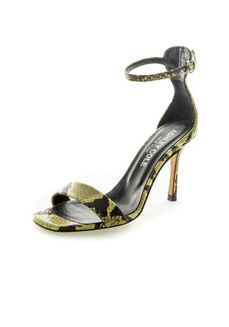 Sandalo cinturino giallo ASHLEY COLE | Sandali | PAS55PIT-GIALLO