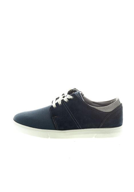 CLARKS SNEAKER LANDRY EDGE BLU CLARKS | Sneakers | LANDRY EDGEMESH-NAVY