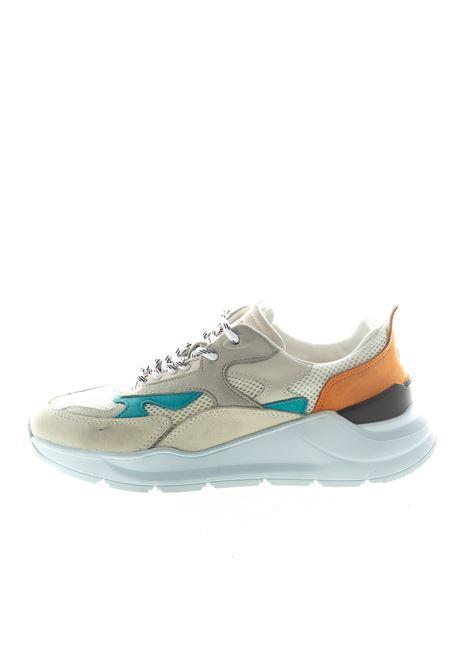 D.A.T.E. SNEAKER FUGA BIANCO/ARANCIONE DATE | Sneakers | FUGAFG-NK-SG
