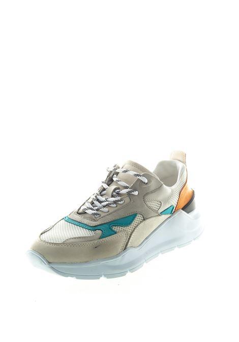D.A.T.E. SNEAKER FUGA BIANCO/ARANCIONE D.A.T.E | Sneakers | FUGAFG-NK-SG