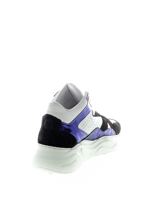 DATE SNEAKER MID MAGIC BIANCO/VIOLA DATE | Sneakers | MAGICMG-CA-WV