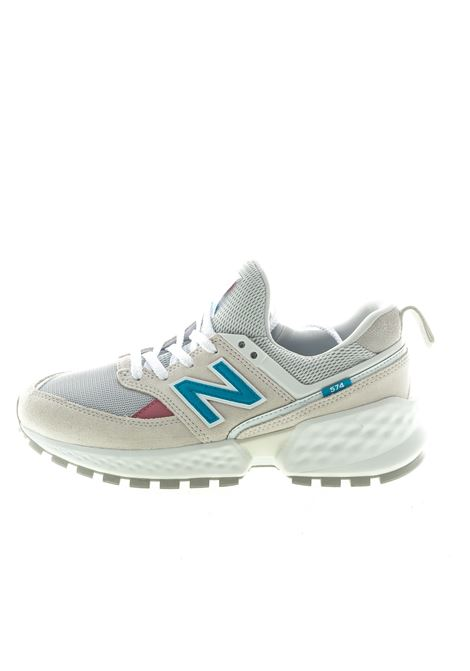 NEW BALANCE SNEAKER 574 BIANCO/BLU NEW BALANCE | Sneakers | 574 DPRA