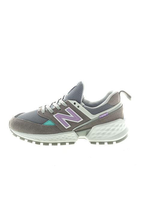 NEW BALANCE 574 SNEAKER GRIGIO/VIOLA NEW BALANCE | Sneakers | 574 DPRC