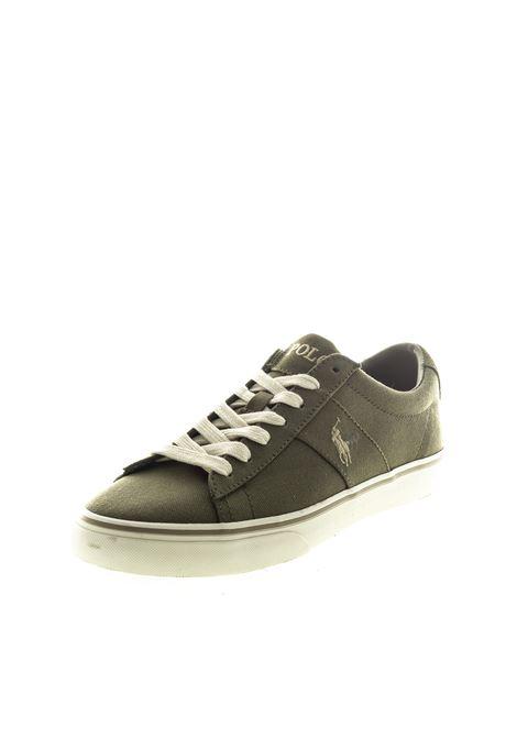 POLO RALPH LAUREN SNEAKER SAYER CANVAS VERDE RALPH LAUREN | Sneakers | SAYERCANVAS-SAGE