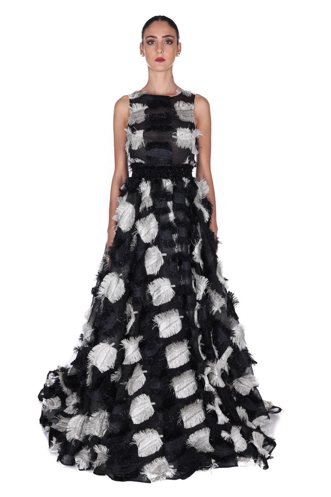 MIAU | Dress | STELLAWHITE/BLCK