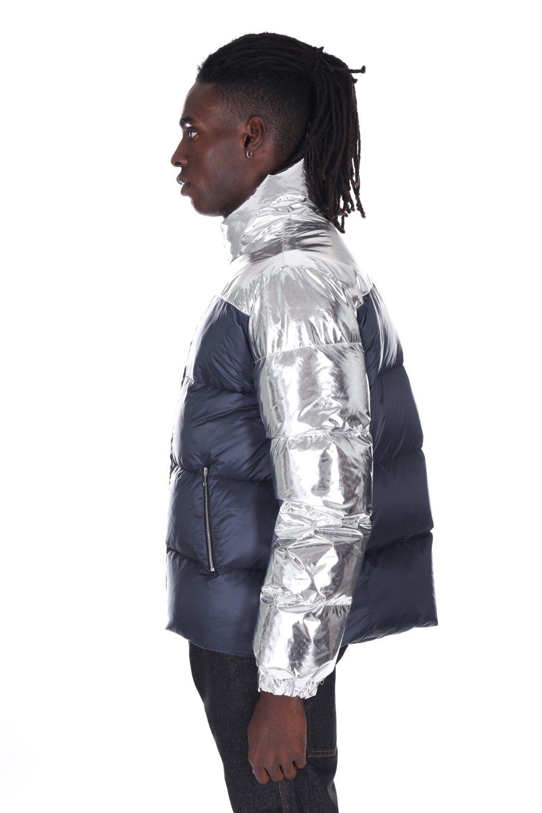 PAURA | Jacket | 02PM0006M06941SILVER/BLUE
