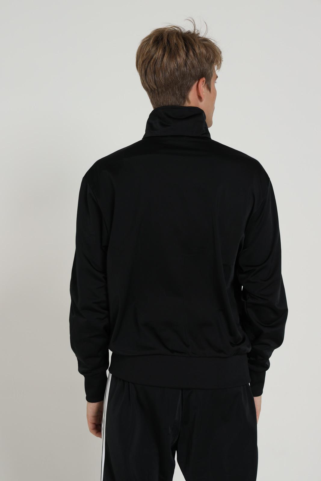 Felpa con zip ADIDAS | Felpe | GF0213BLACK/WHITE