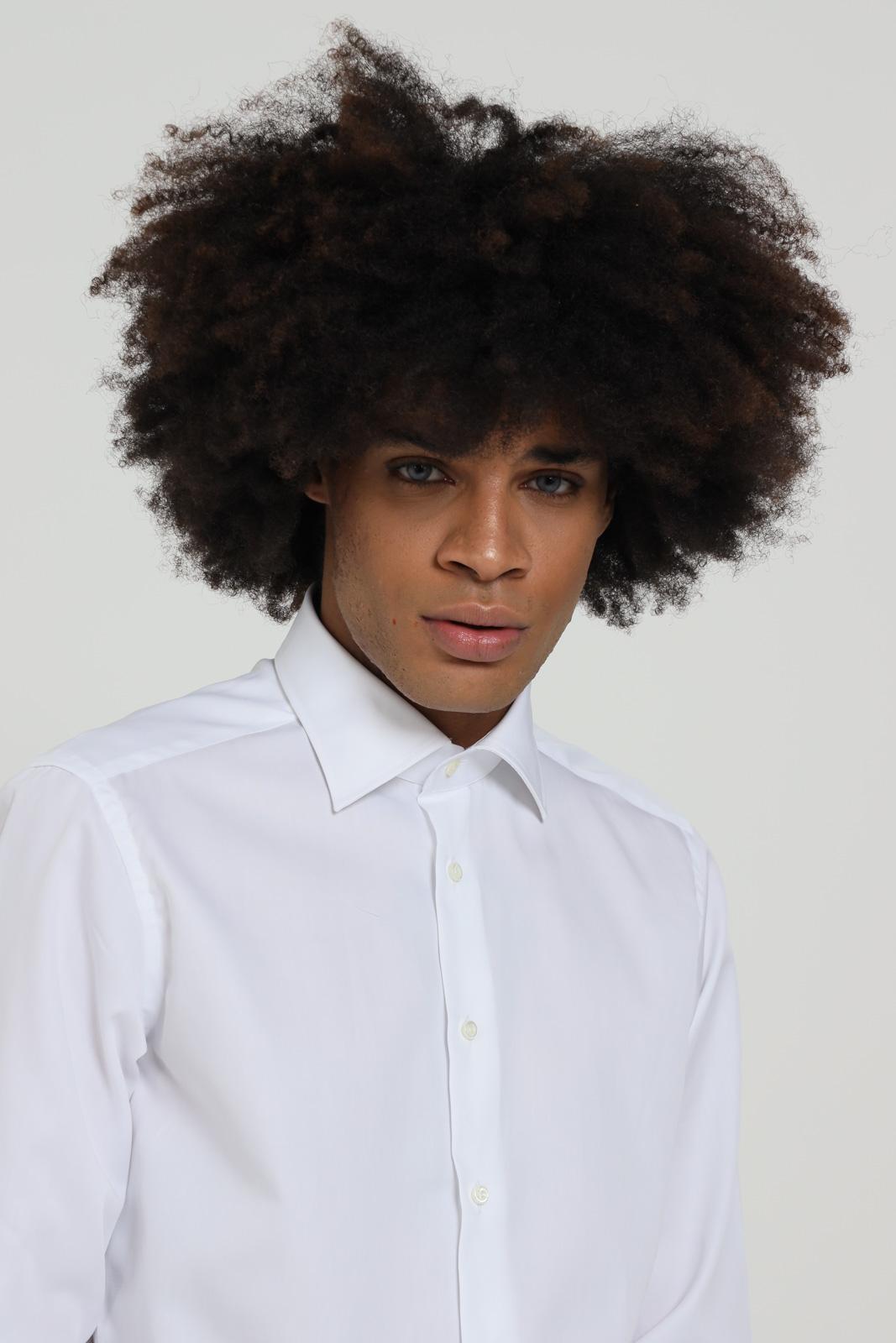 Camicia in tinta unita, manica lunga BRANCACCIO CARUSO   Camicie   CBN0100