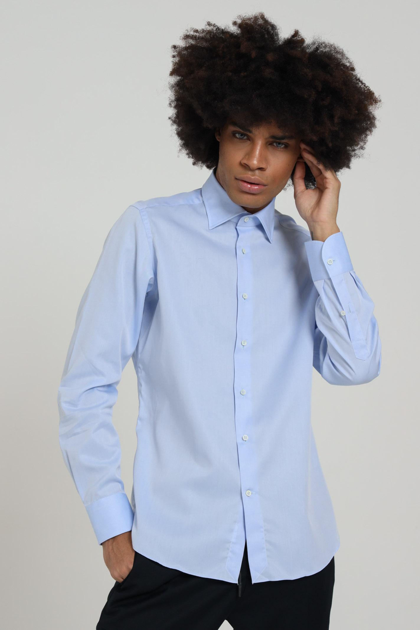 Camicia tinta unita, manica lunga BRANCACCIO CARUSO | Camicie | CBN0101