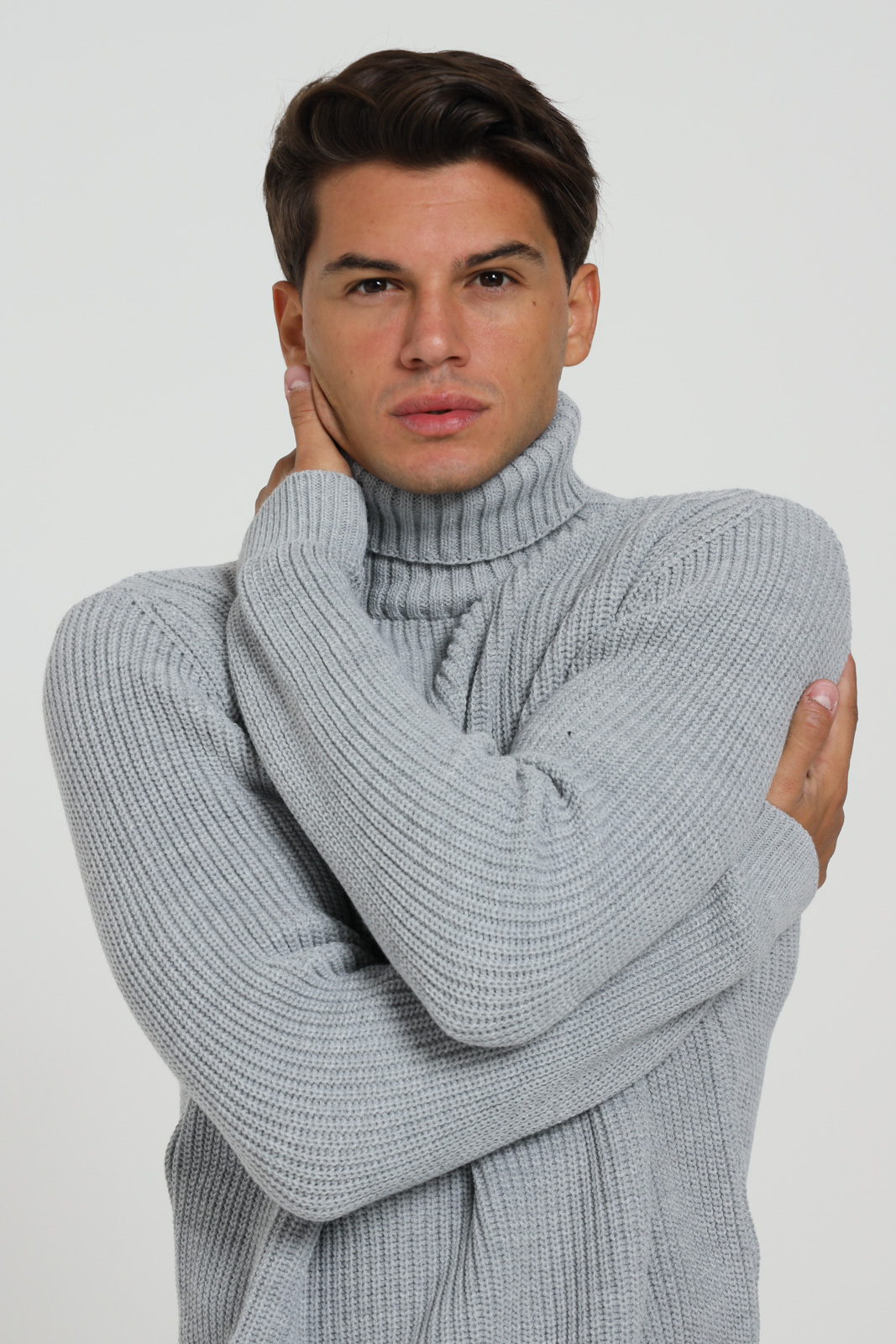 FAMILY FIRST MILANO | Knitwear | M8700PGGREY