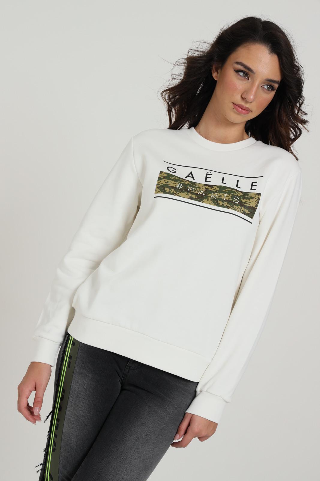 GAELLE | Sweatshirt | GBD70480FF WHITE