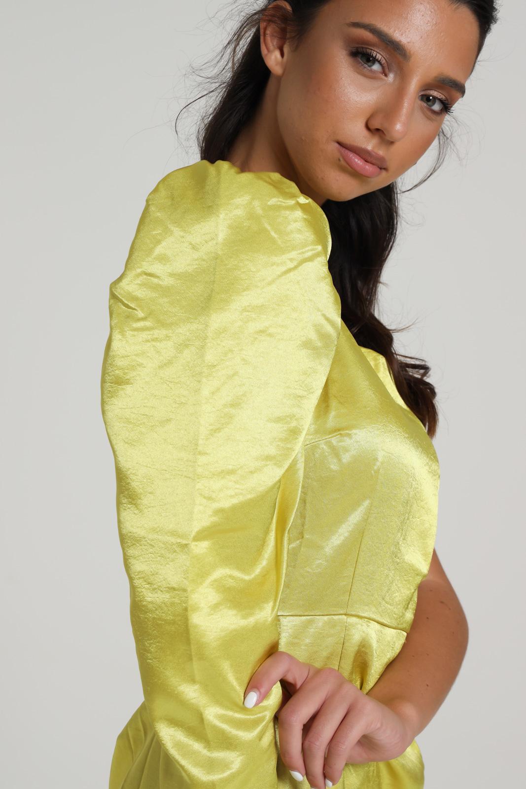 GLAMOROUS | Dress | GC0332LIME YELLOW