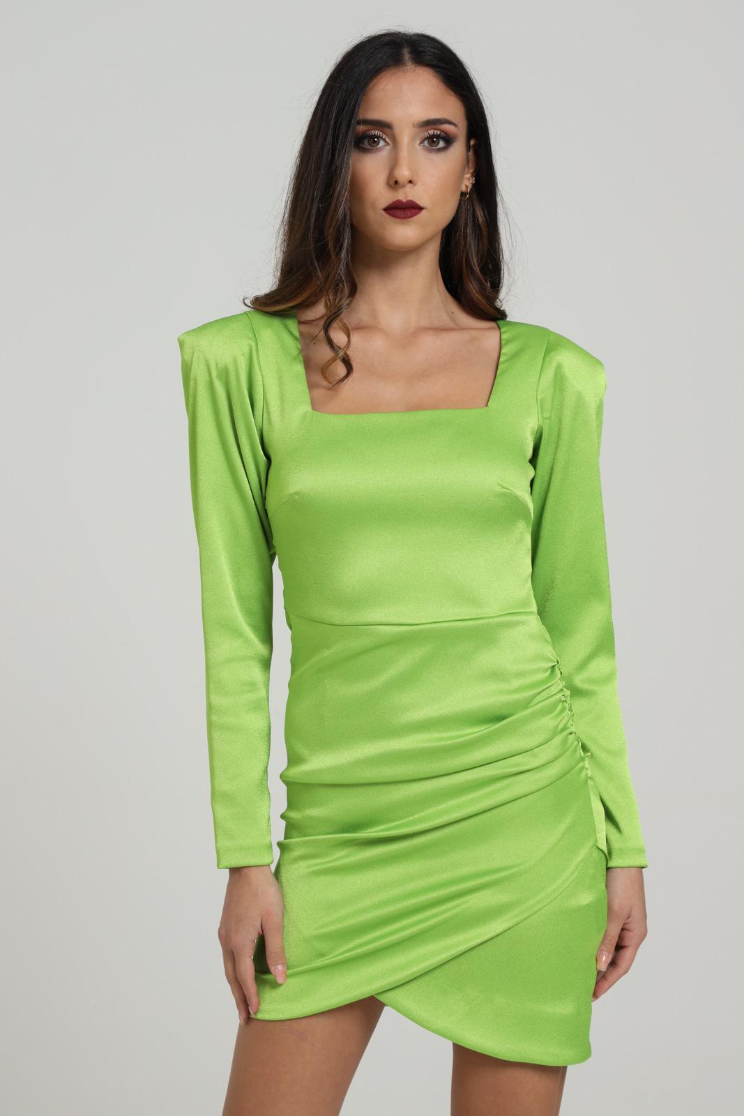 MARC ELLIS | Dress | WMEDR6882LIME