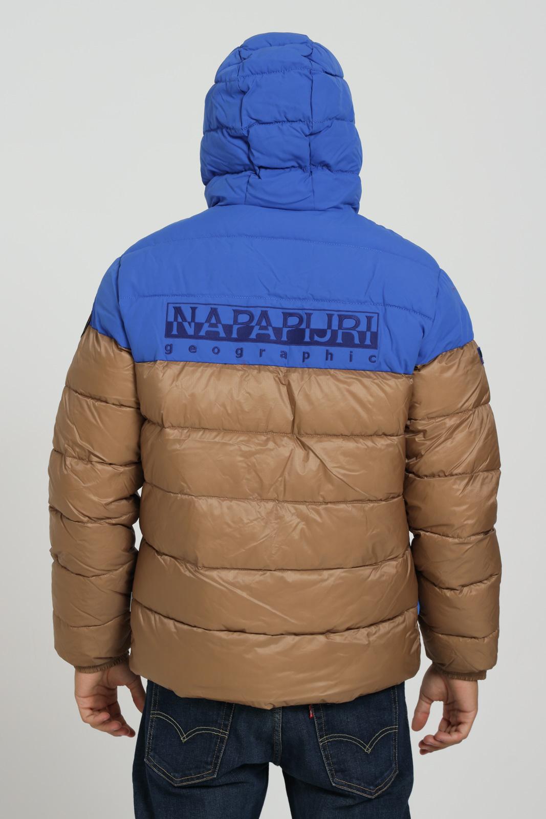 Bomber con logo frontale NAPAPIJRI | Giubbotti | NP0A4ENRNC21NC21
