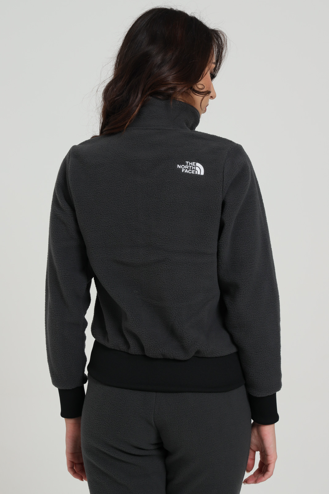 Felpa in paille con zip THE NORTH FACE | Felpe | NF0A4M7I0C510C51