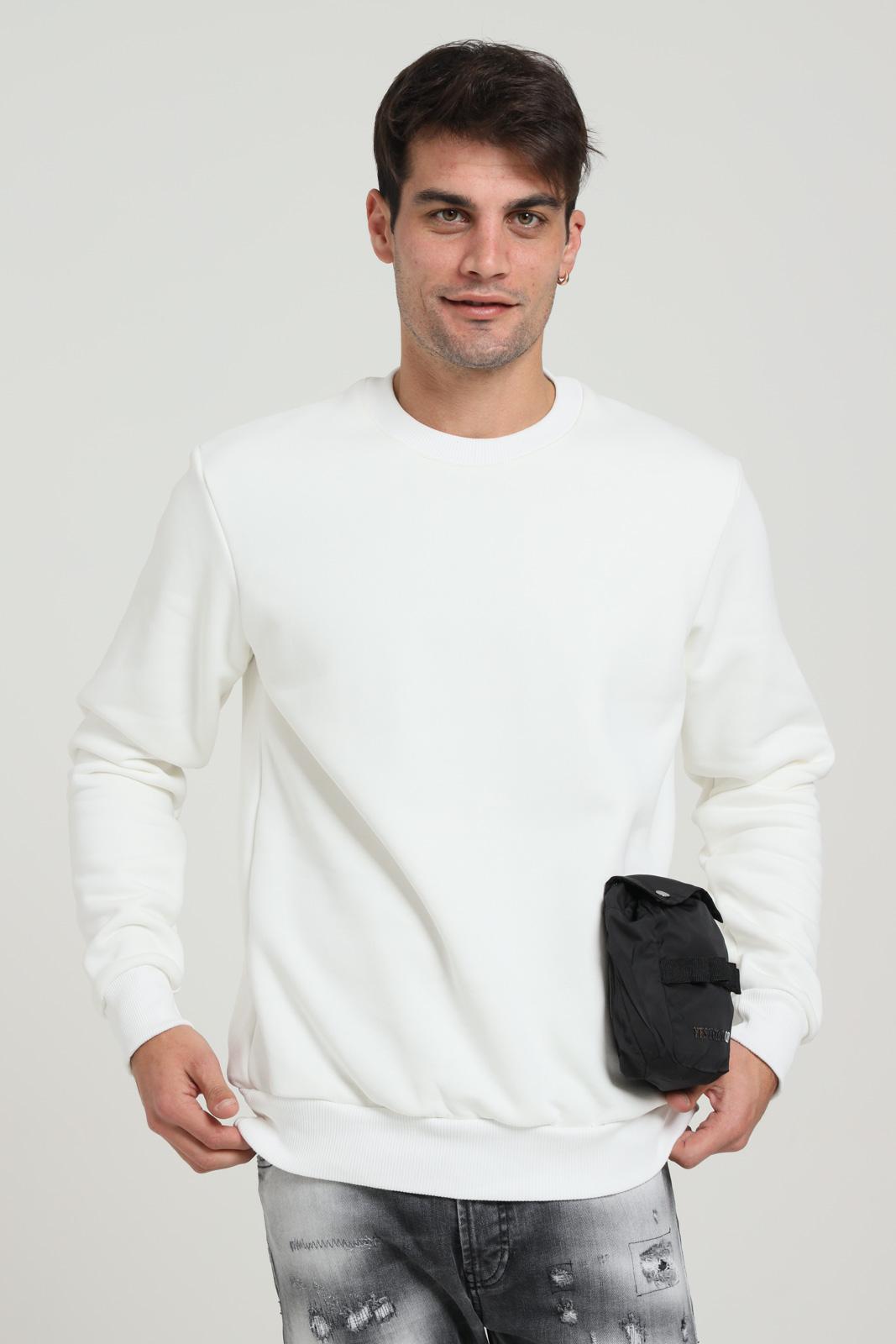 YES LONDON | Sweatshirt | XMF2065PANNA