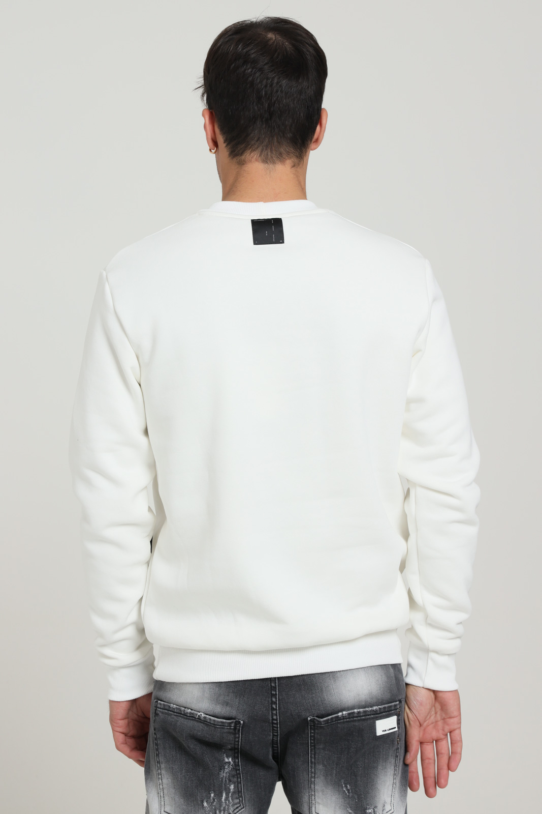 YES LONDON | Sweatshirt | XMF2065PANNA