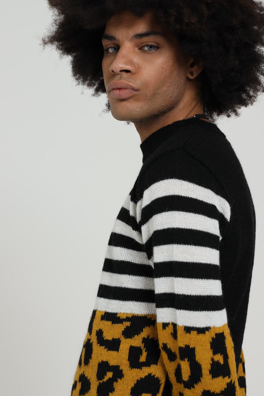 YES LONDON | Knitwear | XML3487UNI