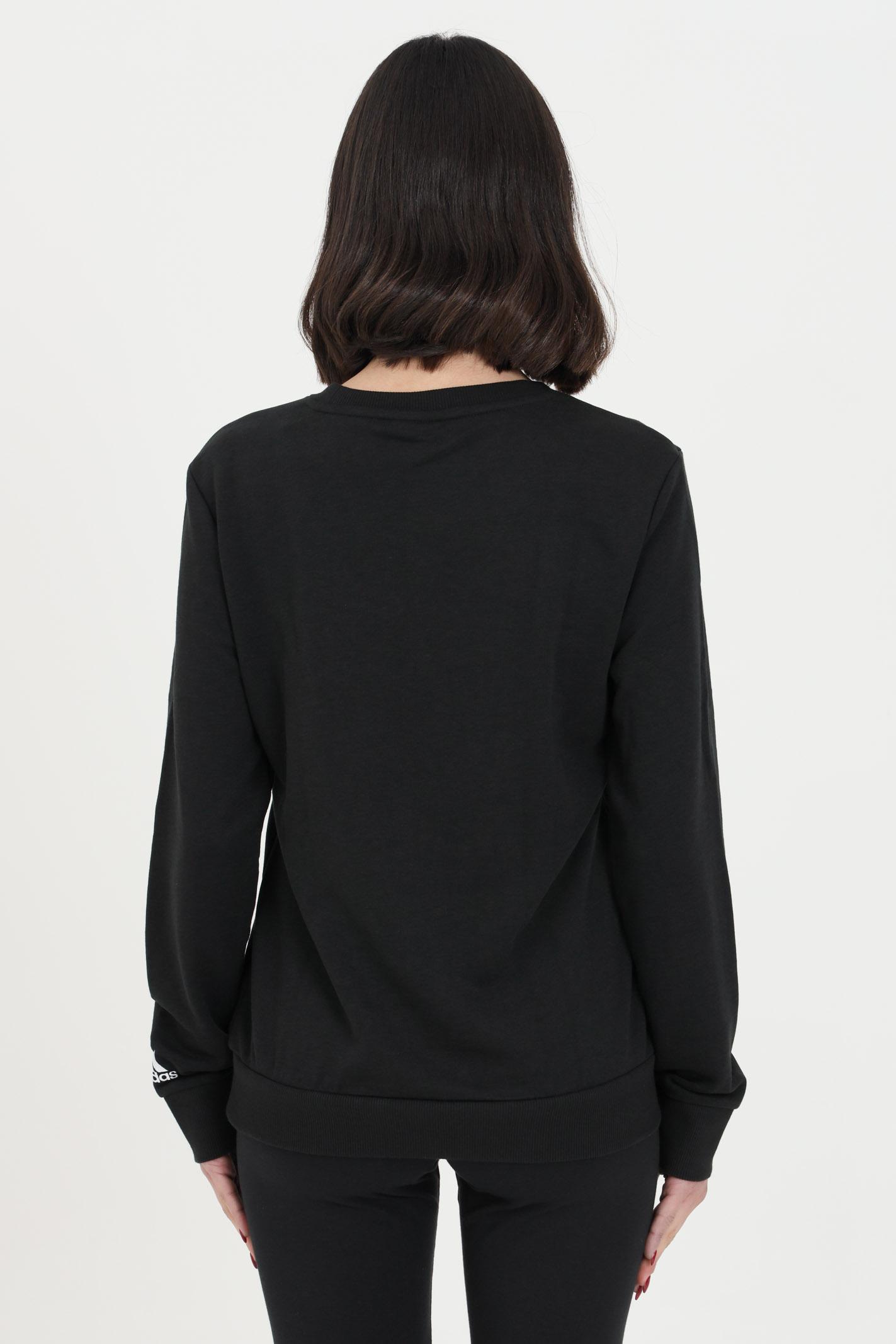Adidas crewneck women's black sweatshirt ADIDAS   Sweatshirt   GL0718.