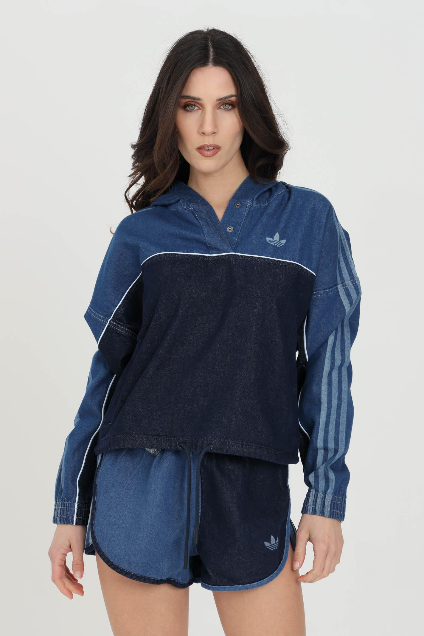 Denim hoodie ADIDAS | Sweatshirt | GM5387.