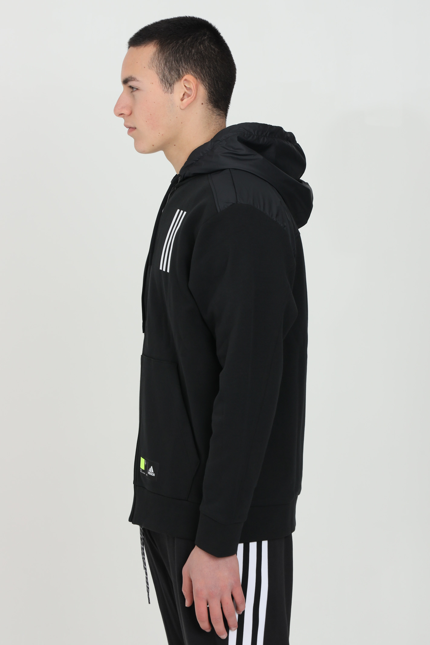 Giacca da ellenamento sportswear overlay zip ADIDAS | Felpe | GM5783.