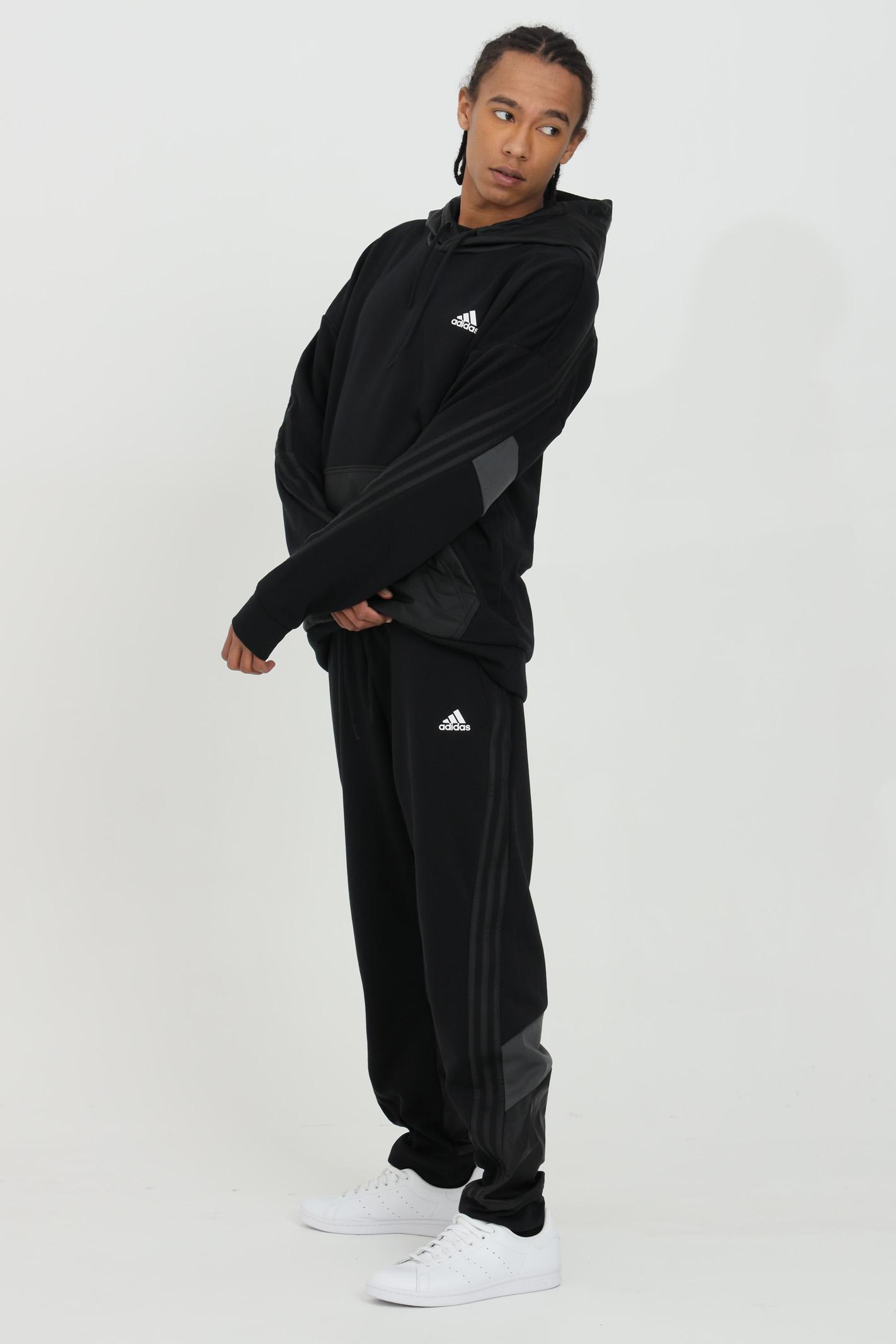 Pantalone tuta con inserti in primegreen ADIDAS | Pantaloni | GM6489.