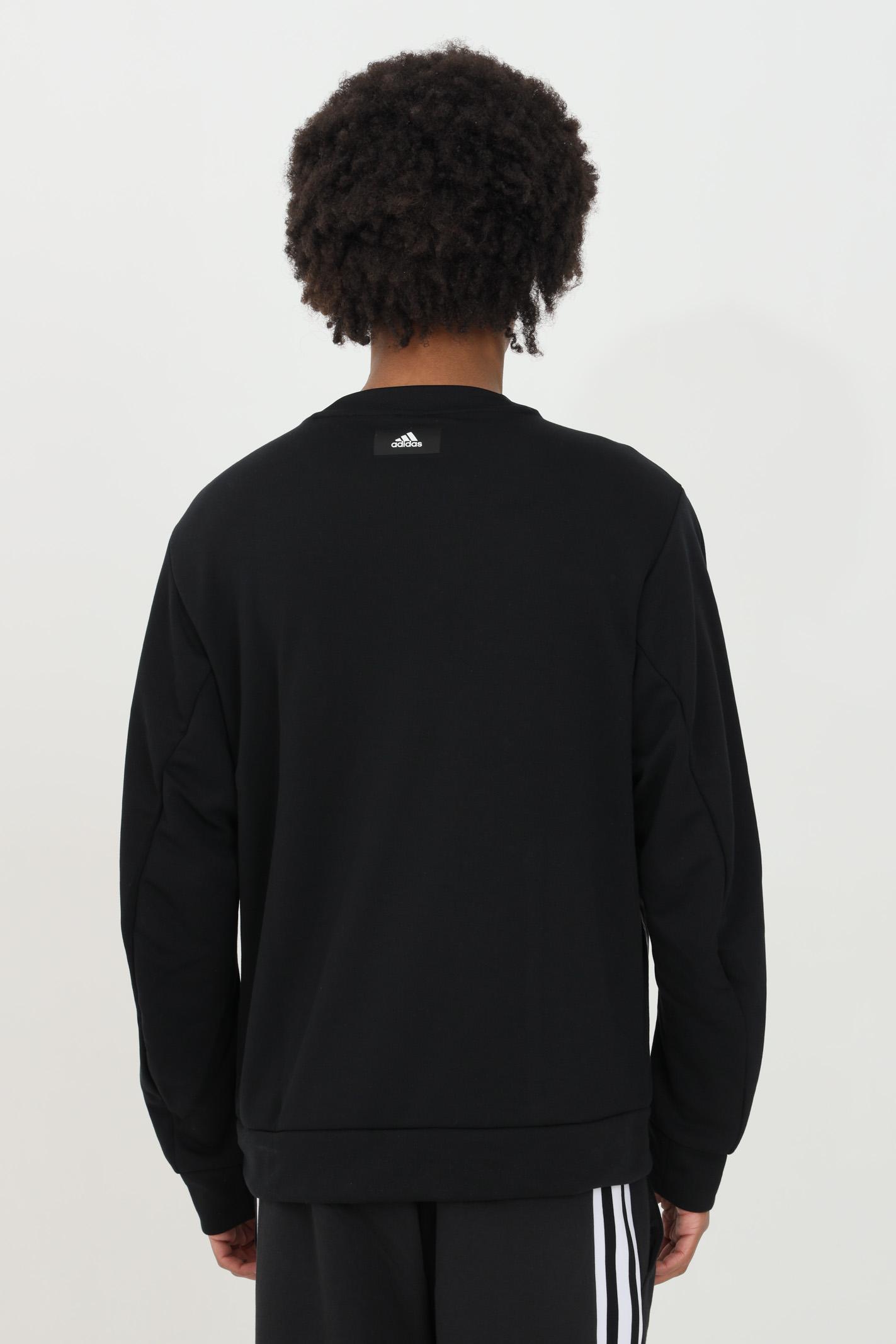 Fabric block crew neck sweatshirt. ADIDAS | Sweatshirt | GM6491.