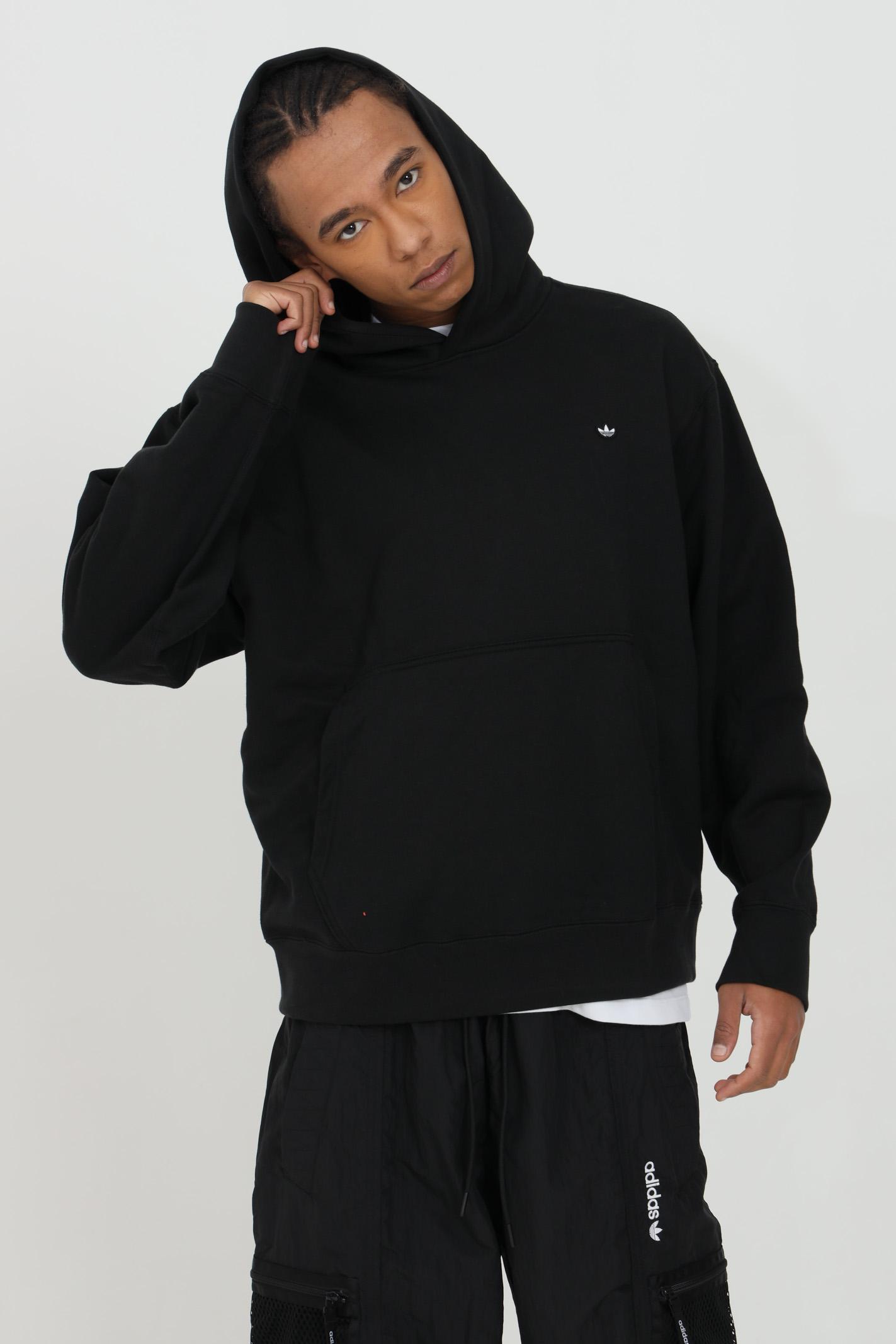 Hoodie in solid color ADIDAS | Sweatshirt | GN3384.