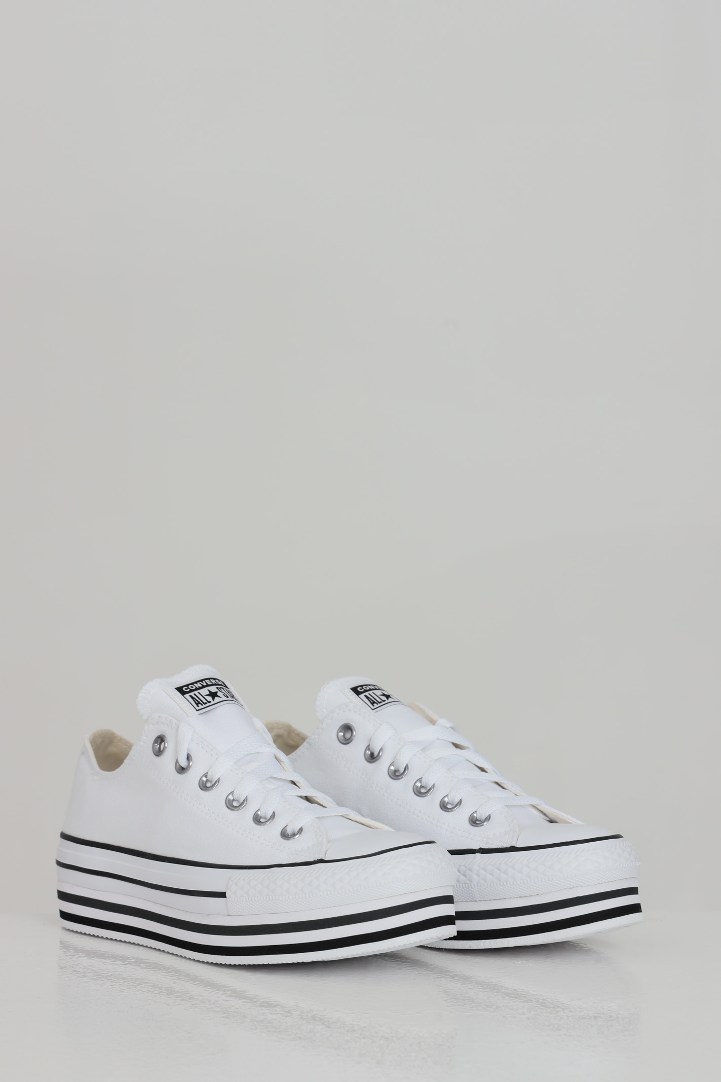 Sneakers chuck taylor all star platform donna bianco converse