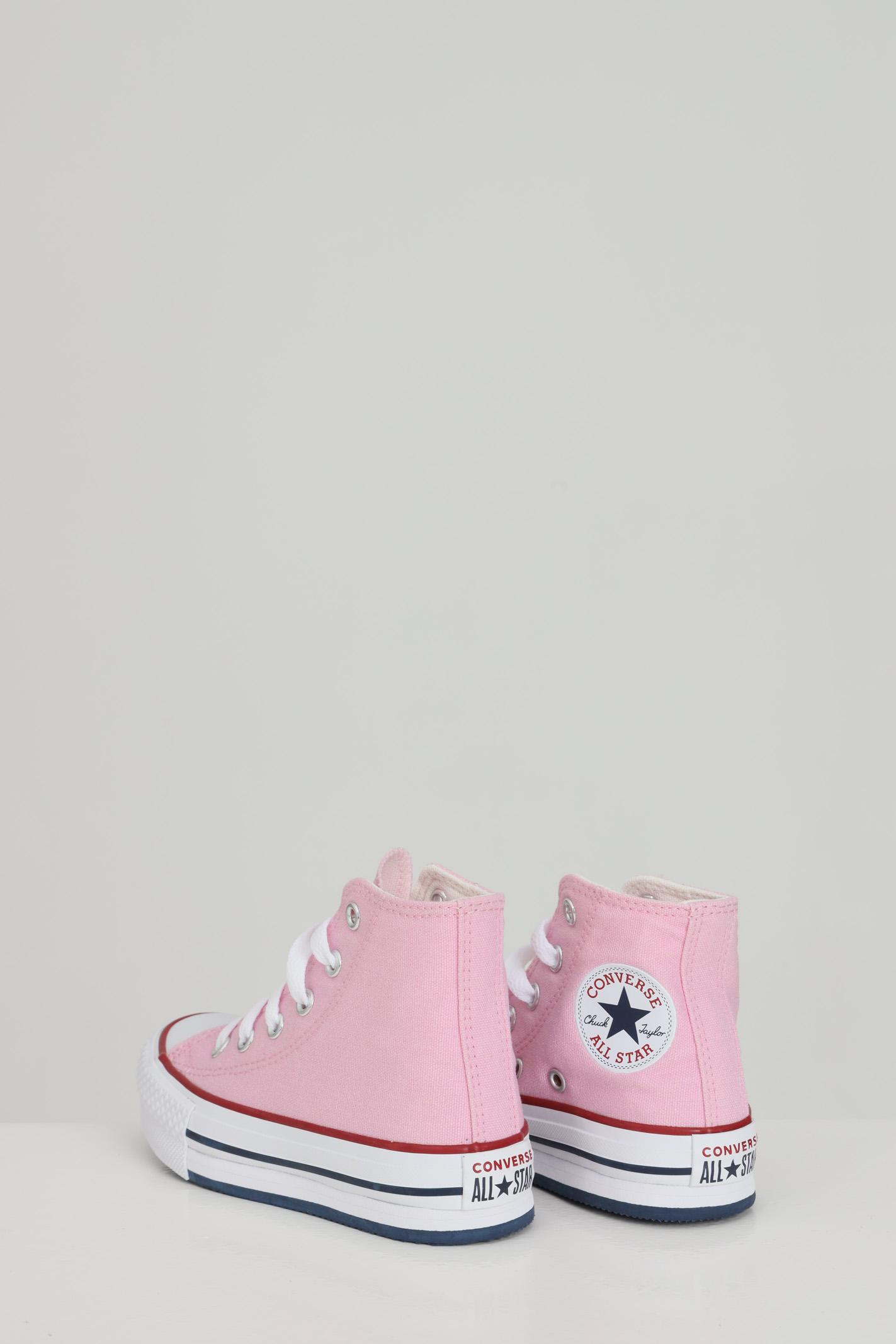 Sneakers converse chuck taylor all star bambina rosa