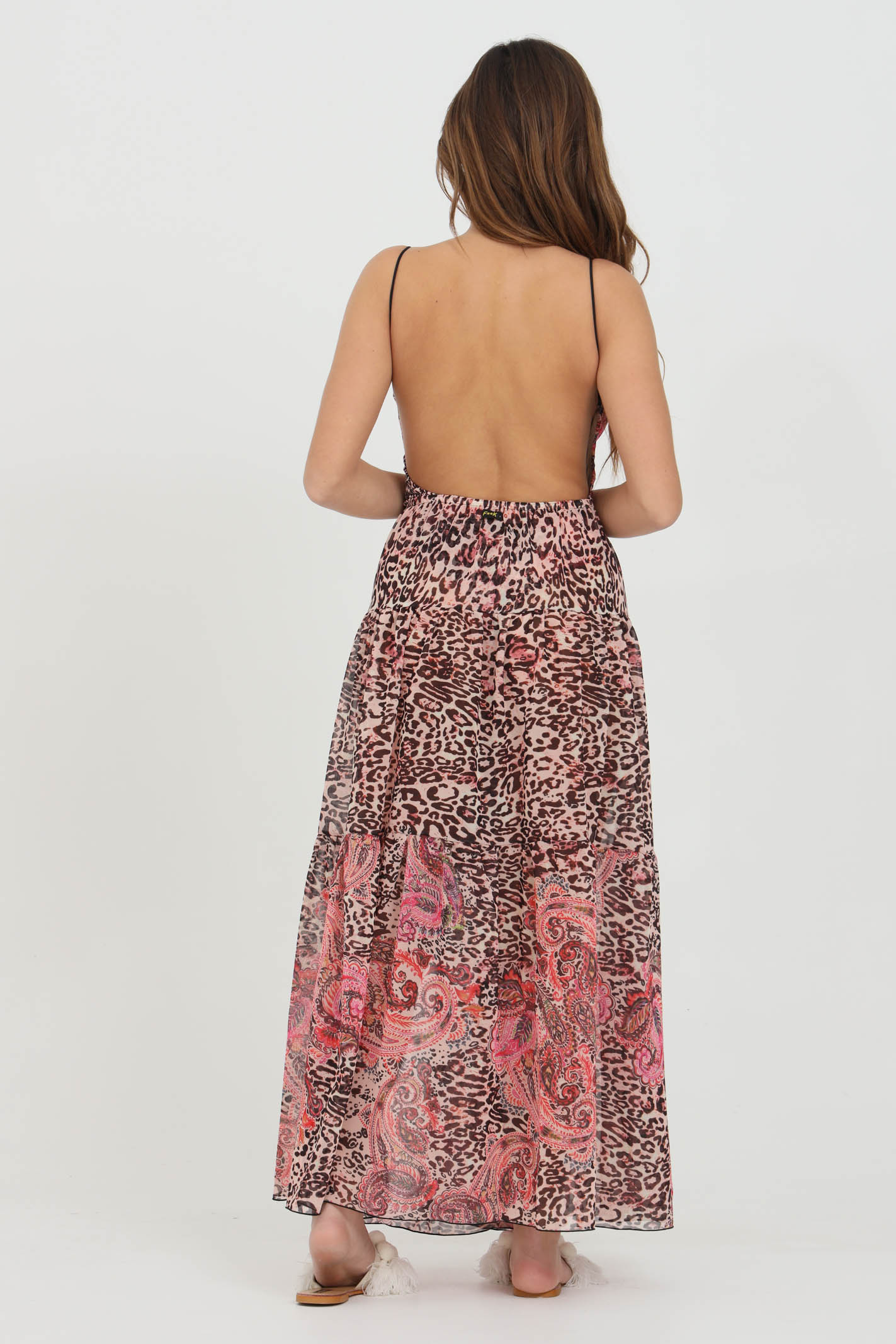Skirt with animal print F**K | Outwater | F21-0586X1.