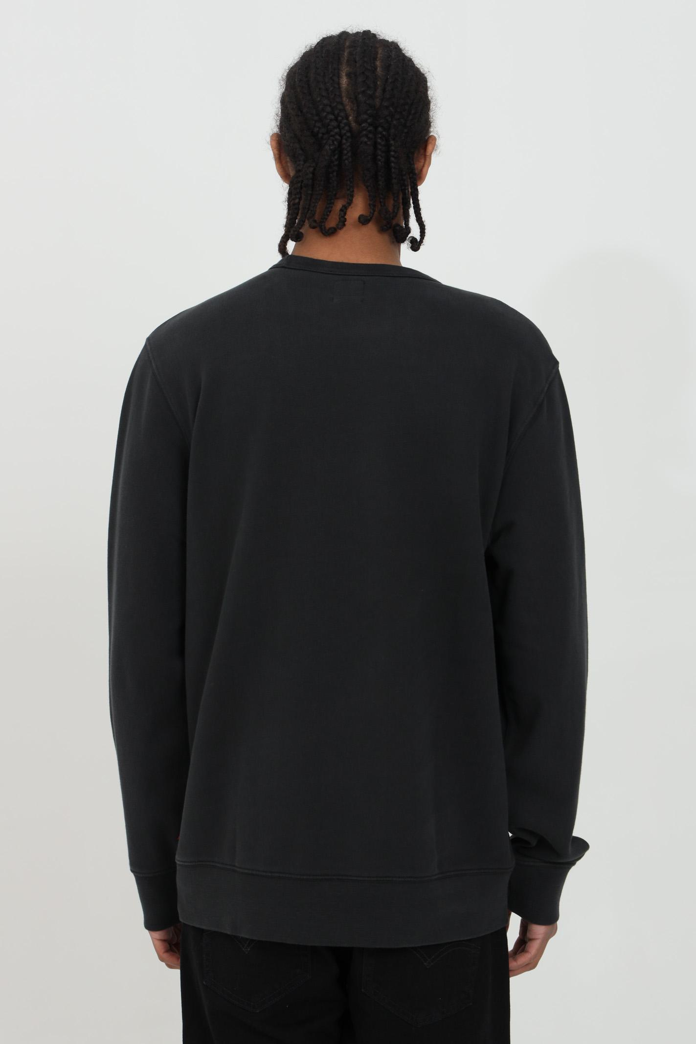 Crew neck sweatshirt with front logo LEVI'S   Sweatshirt   17895-01110111