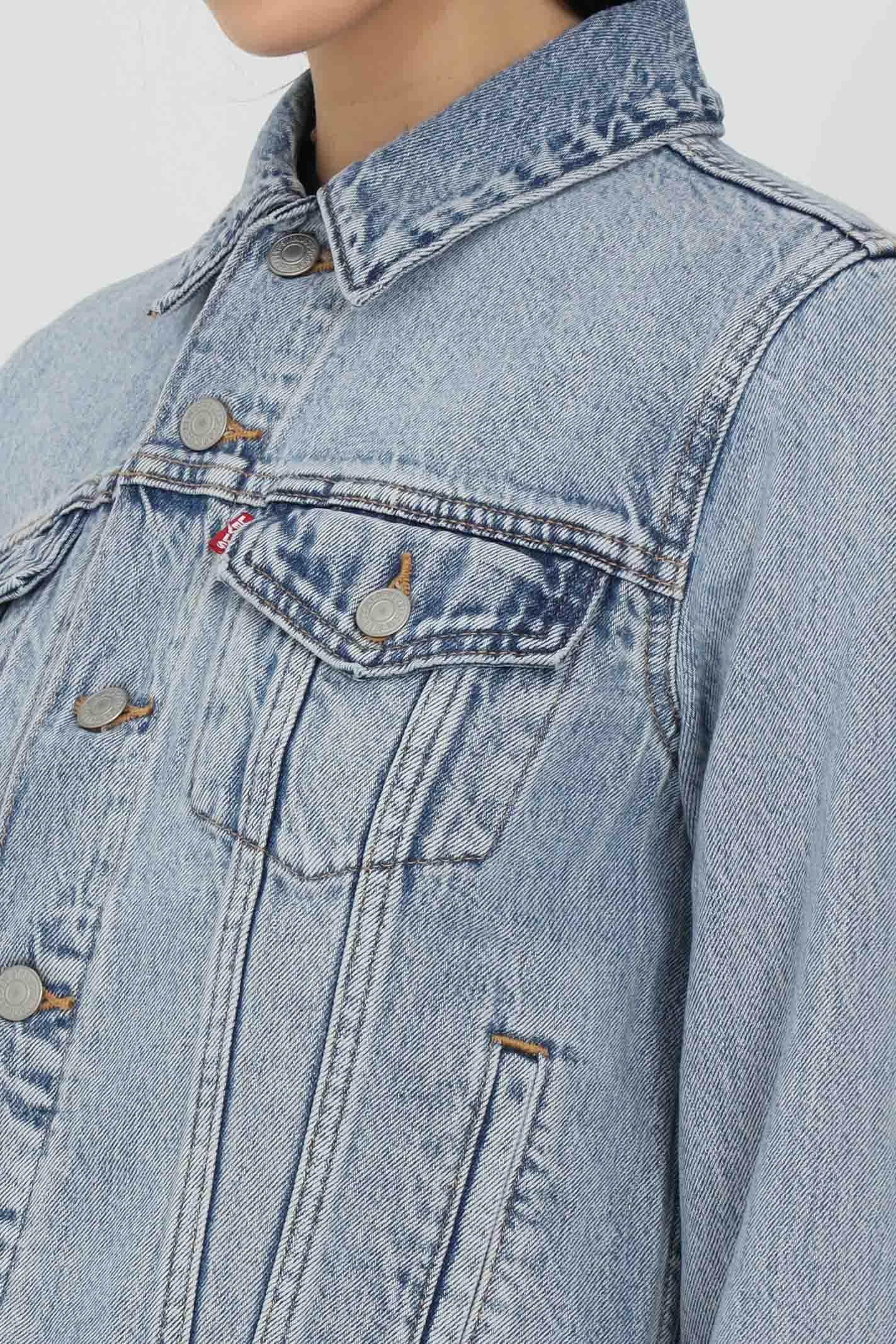 Denim jacket with buttons LEVI'S | Jacket | 29945-01000100