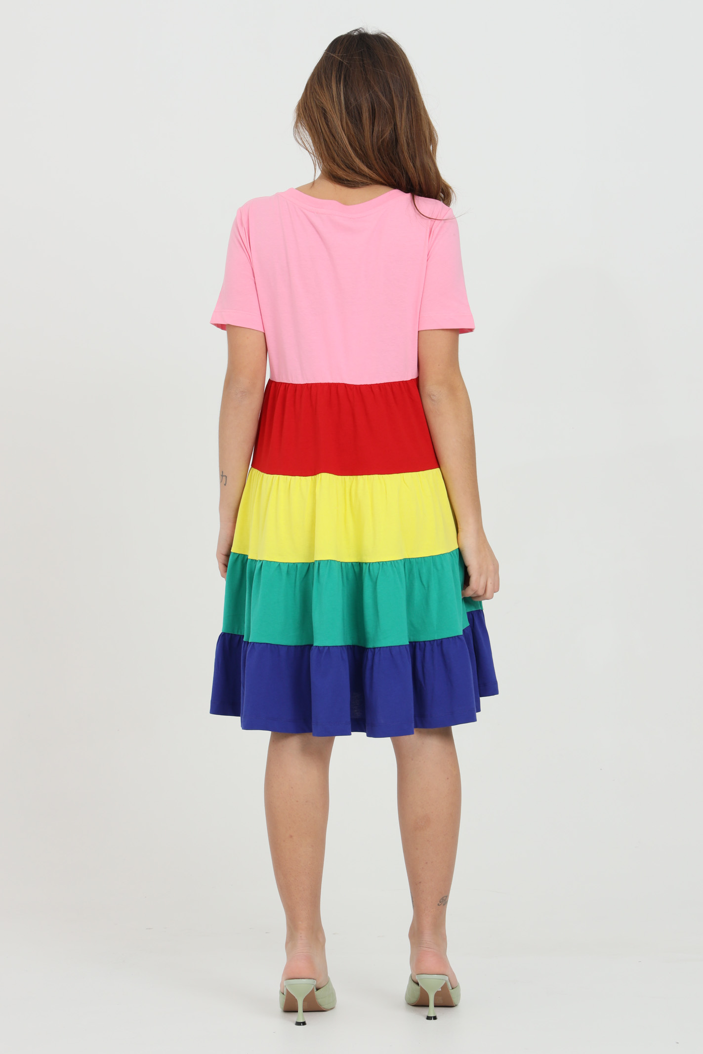 Dress with flounced skirt LOVE MOSCHINO | Dress | W5C1380M38764005