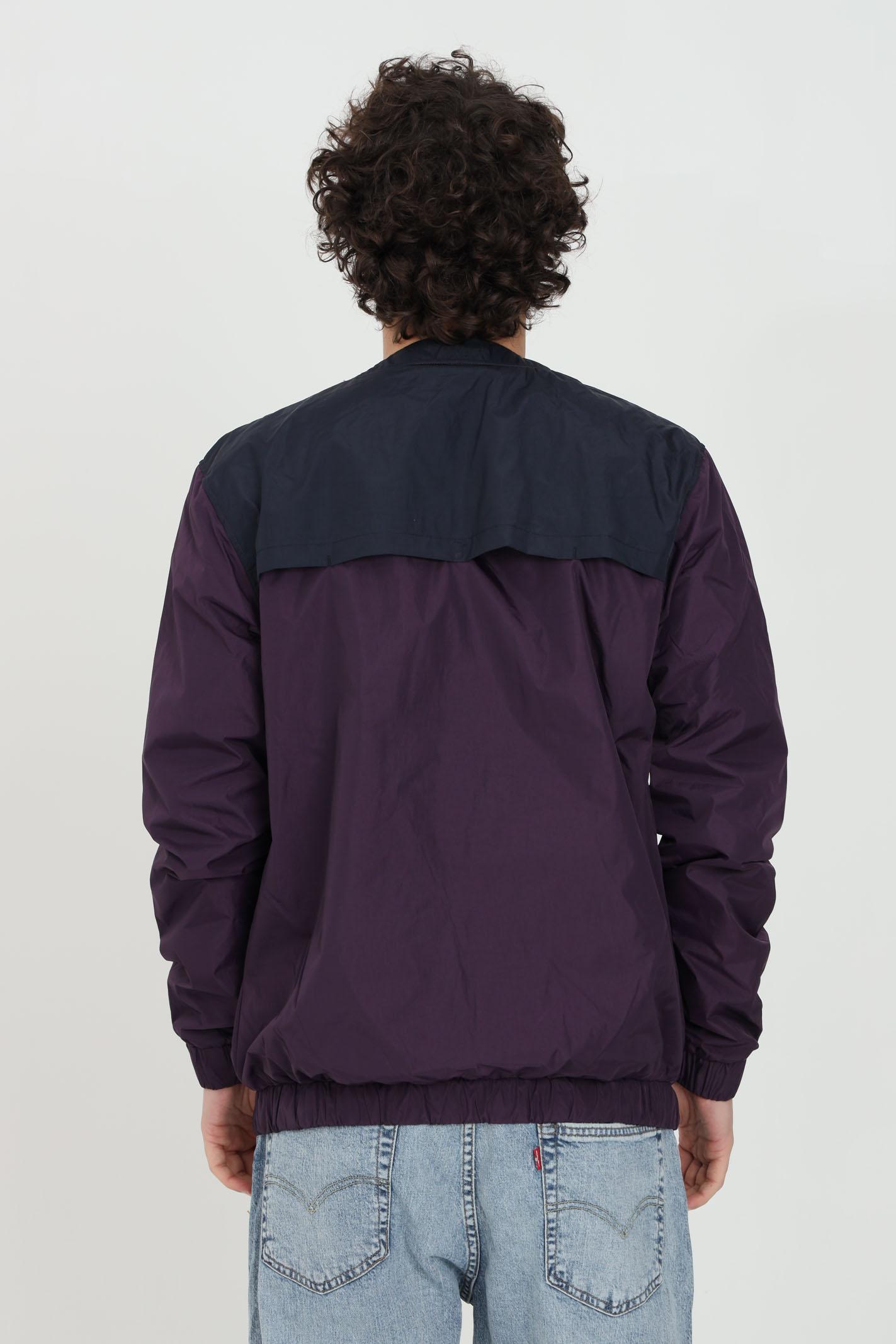Purple windbreaker, long sleeves, brand: Ma.strum MA.STRUM | Jacket | MAS1474M526
