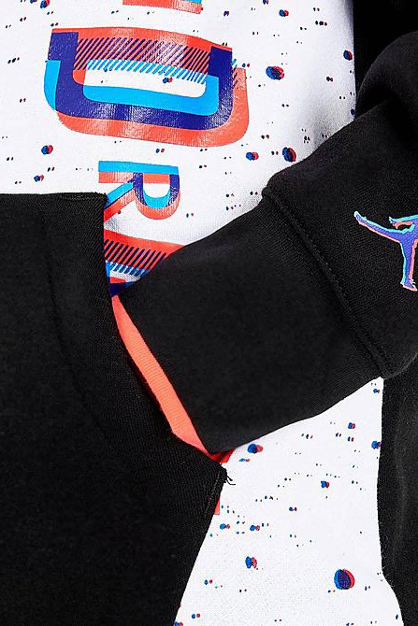 White-black baby hoodie. Nike-Jordan NIKE | Sweatshirt | 95A399-K25K25