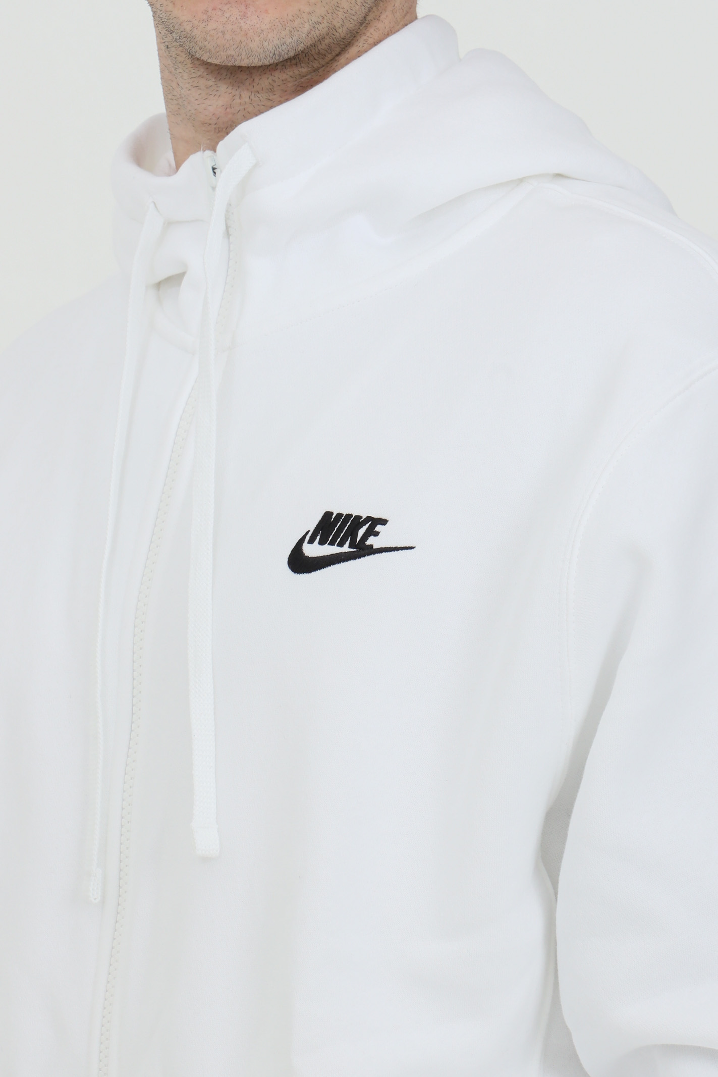 Hoodie with laces, closure with full zip NIKE | Sweatshirt | BV2645100