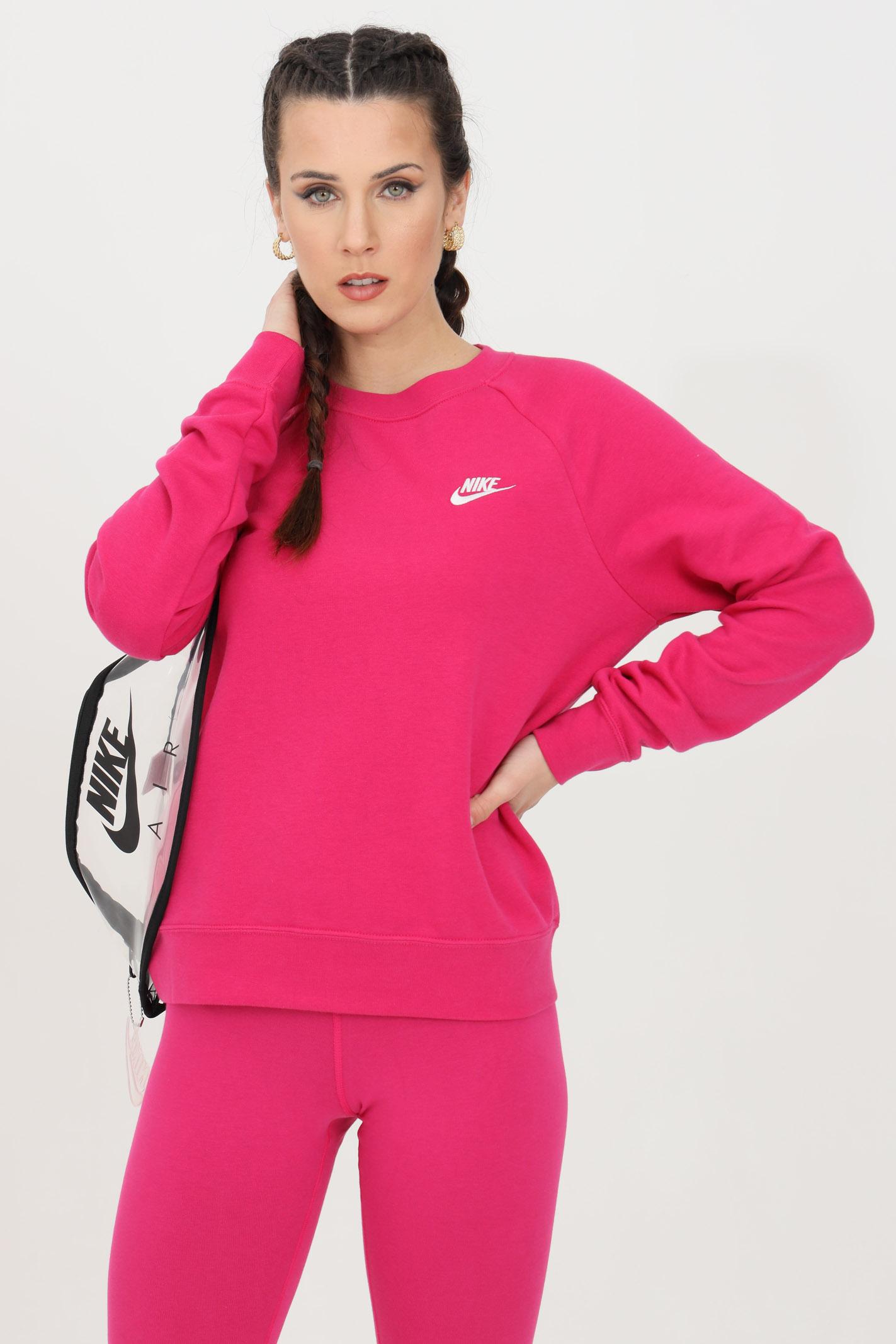 The crew neck fleece jersey  NIKE | Sweatshirt | BV4110616